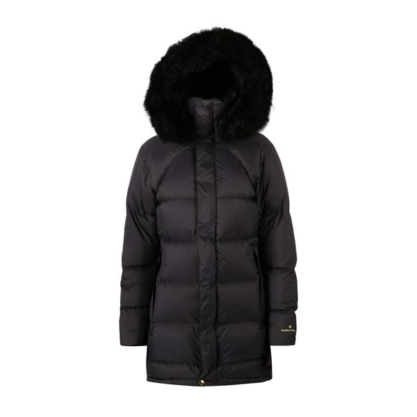 19210090203 Fleischer Couture  Polaris Down coat w/alpaca Deep Well 38 Like the night sky's most famous star